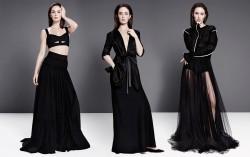 Emily Blunt, Emma Stone, Kirsten Dunst, Selena Gomez (Wallpaper) 5x