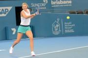 Maria Sharapova Brisbane International 2015 training session January 2015 x11