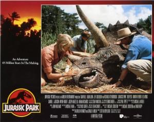 Парк Юрского периода / Jurassic Park (Сэм Нил, Джефф Голдблюм, Лора Дерн, 1993)  86cb48380762657