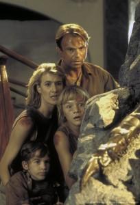 Парк Юрского периода / Jurassic Park (Сэм Нил, Джефф Голдблюм, Лора Дерн, 1993)  9bdfeb380761896