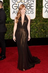 Jessica Chastain - 72nd Annual Golden Globe Awards in Beverly Hills 1/11/15