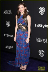 Hailee Steinfeld - InStyle and Warner Bros 2015 Golden Globes After Party in Beverly Hills 1/11/15