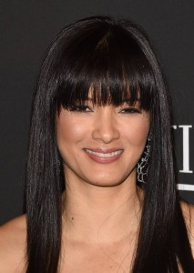 Kelly Hu, InStyle Golden Globes Party, L.A 11/01/15
