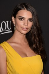 Emily Ratajkowski - InStyle and Warner Bros 2015 Golden Globes After Party in Beverly Hills 1/11/15