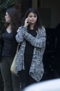 Selena Gomez - Leaving Mr Chow in Beverly Hills 1/15/15