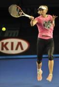 Caroline Wozniacki - Australian Open 2015 Practice Session x7