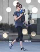 Dakota Johnson - Leaving yoga class in West Hollywood 1/21/15
