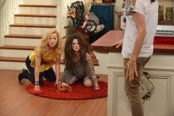 Dove Cameron and Laura Marano in 'Liv and Maddie'
