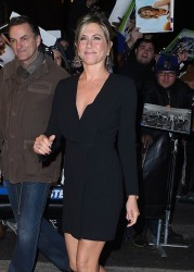 Jennifer Aniston - Arriving at The Daily Show with Jon Stewart in NYC 1/22/15