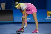 Petra Kvitova 3rd round of the Australian Open in Melbourne - January 24-2015 x2