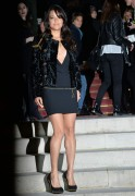 Michelle Rodriguez Versace show as part of Paris Fashion Week in France January 25-2015 x56