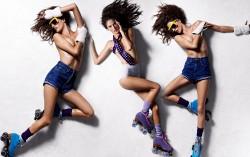 Alessandra Ambrosio, Charlize Theron, Emily Blunt, Jennifer Aniston (Wallpaper) 5x