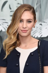 Dylan Penn - Chanel S/S 2015 Haute Couture Fashion Show in Paris 1/27/15