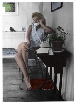 Marilyn Monroe - Colored Picture - x 1