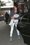 Michelle Rodriguez seen at LAX airport January 27-2015 x14