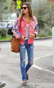Alessandra Ambrosio - Out for lunch in Brentwood 1/28/15