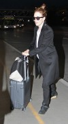 Julianne Moore departs from Los Angeles International Airport (LAX) January 26-2015 x6