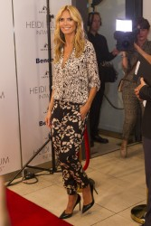 Heidi Klum - Heidi Klum Intimates Collection Launch in Auckland, New Zealand 1/29/15