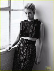 Emma Roberts - Heroine Magazine