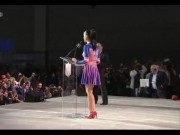 Katy Perry - Leggy at NFL Super Bowl 2015 Halftime Show Press Conference, January 29, 2015