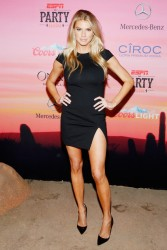 Charlotte McKinney - ESPN the Party  1/30/ 2015