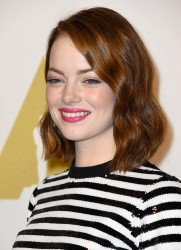 Emma Stone - Academy Awards Nominee Luncheon in Beverly Hills 2/2/15