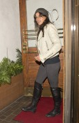 Michelle Rodriguez seen at Madeo Restaurant in West Hollywood Februsry 3-2015 x12
