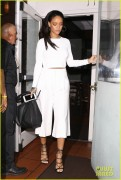Rihanna - Leaving Giorgio Baldi restaurant in Santa Monica 2/7/15