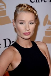 Iggy Azalea - 57th Annual Pre-GRAMMY Gala and Salute To Industry Icons in LA 2/7/15