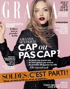 Amanda Seyfried Grazia Magazine France Jan '14