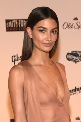 Lily Aldridge - Sports Illustrated 2015 Swimsuit Takes Over in Nashville 2/11/15