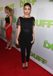 "Sarah Hyland - ""The Duff"" Screening in LA 2/12/15"