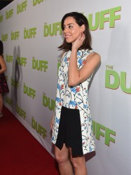 "Aubrey Plaza - ""The Duff"" Screening in LA 2/12/15"