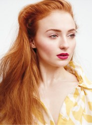 Sophie Turner - InStyle (US) - March 2015