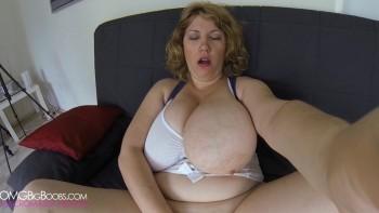 Amateur GoPro busty masturbation video in Movie Clip Post