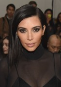 Kim Kardashian - Robert Geller Fall 2015 Fashion Show in NYC 2/14/15