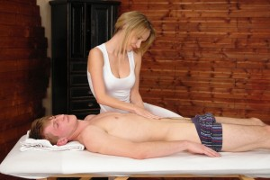 CFNM Sensual Massage part 1