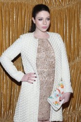 Michelle Trachtenberg - alice + olivia by Stacey Bendet Fall 2015 Collection Presentation in NYC 2/16/15