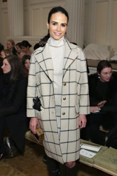 Jordana Brewster - Tory Burch Fall 2015 Fashion Show in NYC 2/17/15