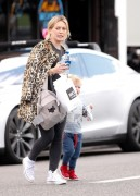 Hilary Duff - Out for lunch in West Hollywood 2/23/15