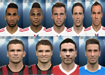 PES 2015 Bundesliga # 5 Facepack by rednik