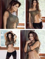 Ninel Conde Revista H para hombres Marzo 2013