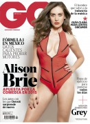 Alison Brie - GQ Mexico, March 2015, pics+video