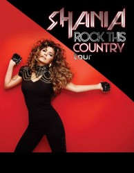 Shania Twain - Rock This Country 2015 tour poster (LQ)