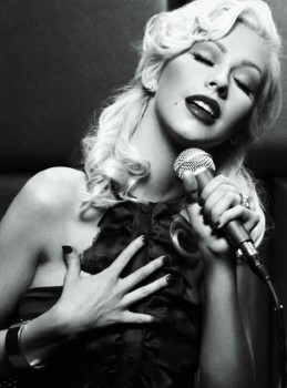 Christina Aguilera - Cute Colored Picture - x 1