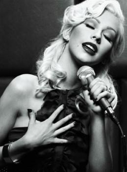 Christina Aguilera - Cute Colored Picture - x 1
