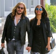 Zoe Saldana with Marco Perego in Santa Monica March 10-2015 x29