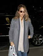 Jessica Alba Arrives at LAX International Airport March 9-2015 x30
