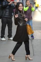 Vanessa Hudgens visits 'Good Morning America' in New York - March 11,2015
