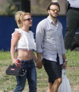 Britney Spears - At her sons soccer game in Calabasas 3/15/15